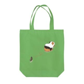 モルモットの落し物 Tote bags