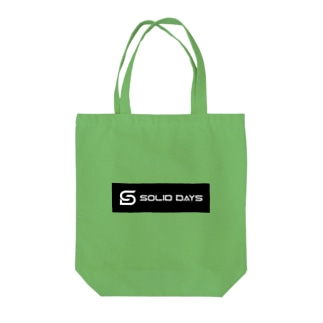 SOLID DAYS 2019 ボックスロゴ Tote bags