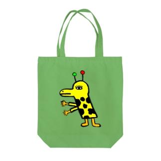 きりんさん Tote bags