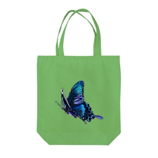 我=蝶 Tote bags