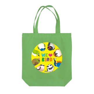 WE ♥ BIRD Tote bags