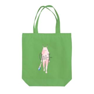 金棒とOni子ちゃん(ピンク) Tote bags
