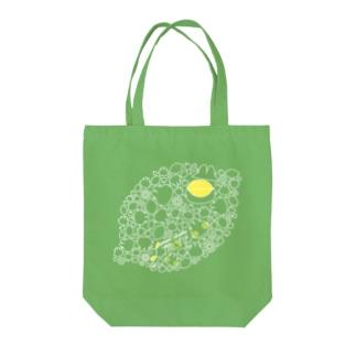 リモーネちゃんレモンいっぱいトート Tote bags