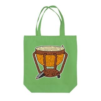 ティンパニ迷路 Tote bags