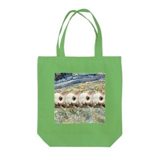 アートにゃんこ。 Tote bags