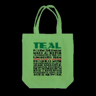 TEALのOrganizational theory Tote bags