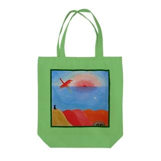 海辺のフェニックス Tote bags