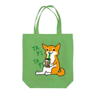 タピタピ柴さん(赤柴) Tote bags