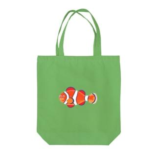 カクレクマノミ Tote bags