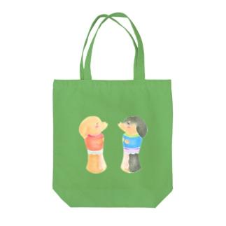こけしなダックスフンド Tote bags