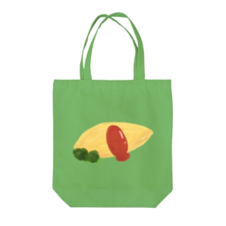 水彩オムライス (皿無し) Tote bags