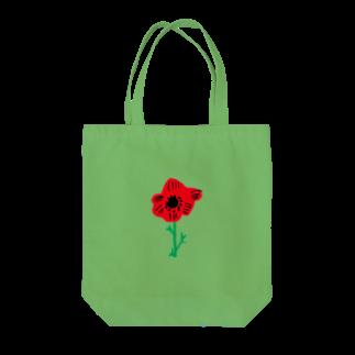 さとやま図案のアネモネ Tote bags