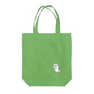 伝説のウナギイヌ Tote bags