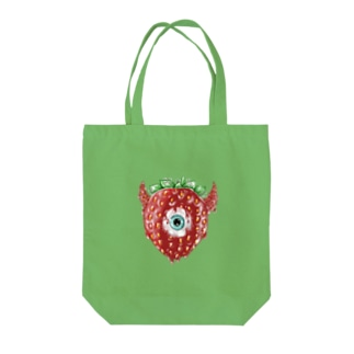 strawberryMonster Tote bags