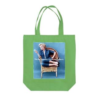マリリン・モンロー Tote bags