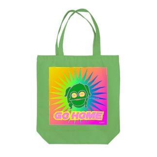 GOHOME《蛙》 Tote bags