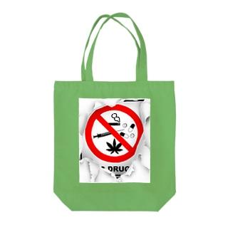 違法18禁 Tote bags