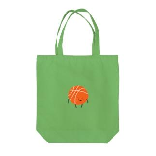 バスケボールまるちゃん。 Tote bags