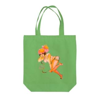 電撃音楽 Tote bags