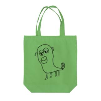 伝説の透明なウナギイヌ Tote bags