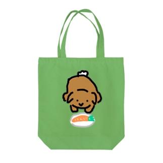 献上うさぎ Tote bags