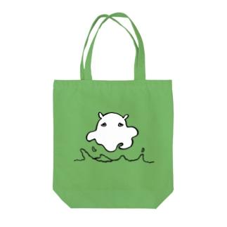 浮遊メンダコ Tote bags