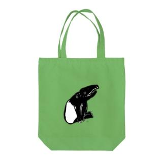おすわりバクちゃん Tote Bag