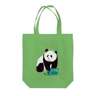 IT系のパンダ Tote bags