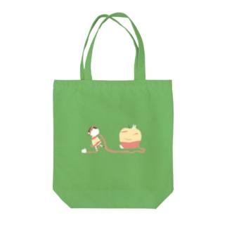 りんごのかわにからまる Tote Bag