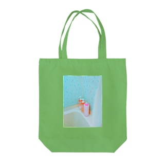 shower time buddies Tote bags