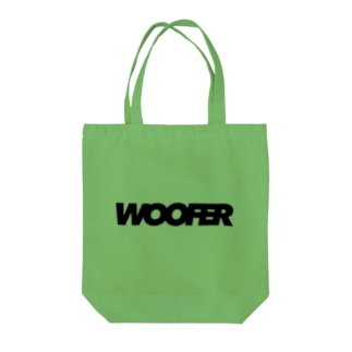 WOOFER Tote bags