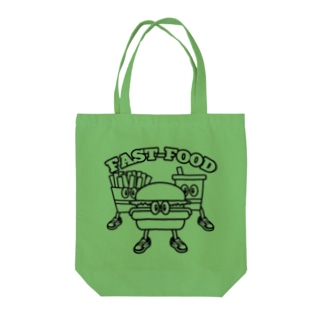 fastfood_bros Tote bags