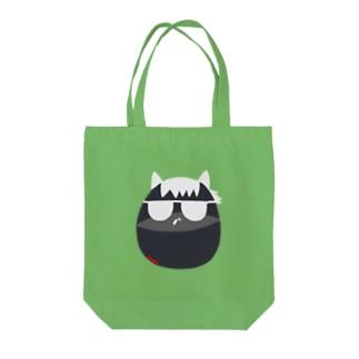 ダンディーホース Tote bags