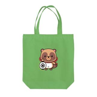 五六たぬき Tote bags