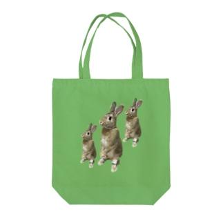 うさころん Tote bags