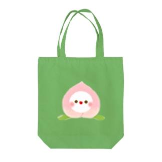 🍑フルーちゅん【もも2】 Tote bags