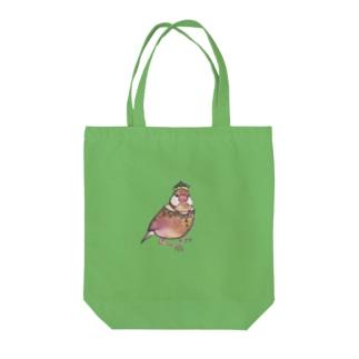 文鳥 Tote bags