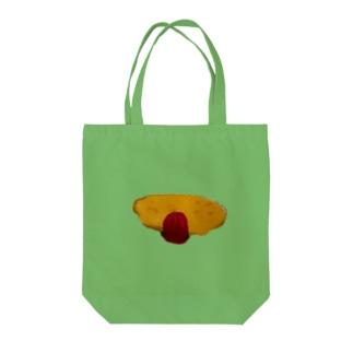 オムライスの絵 Tote bags