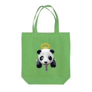 遊具〈パンダ〉 Tote bags