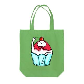 かき氷さん Tote bags