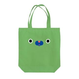 きりんフェイス Tote bags