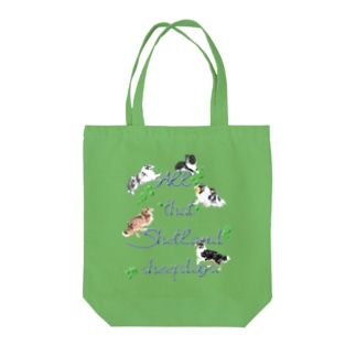 All that Shetland sheepdogs Tote bags