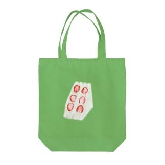ストロベリーサンドイッチ Tote bags