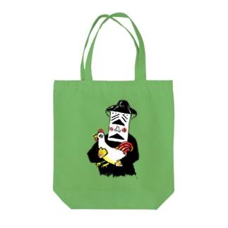 ストリートのお店の人々 Tote bags