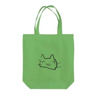 ちやんねこ Tote bags