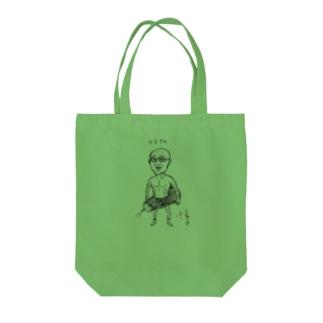 ASITA_PRODUCTSのシャンプーハットこいで×ASITA_PRODUCTS Tote bags