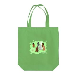 もちうま Tote bags