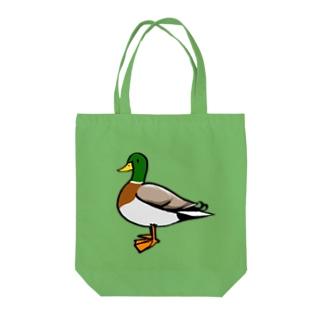 マガモくん Tote bags