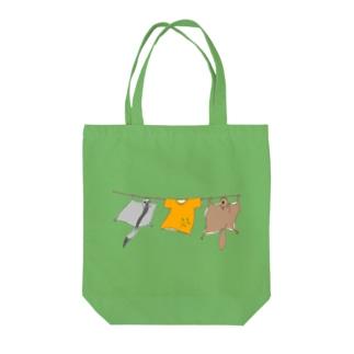洗濯モモンガ Tote bags