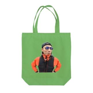 しょい道山 Tote bags